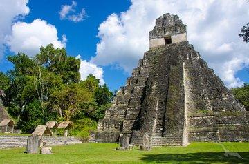 Kohlenstoff aus Mayan-Pyramiden