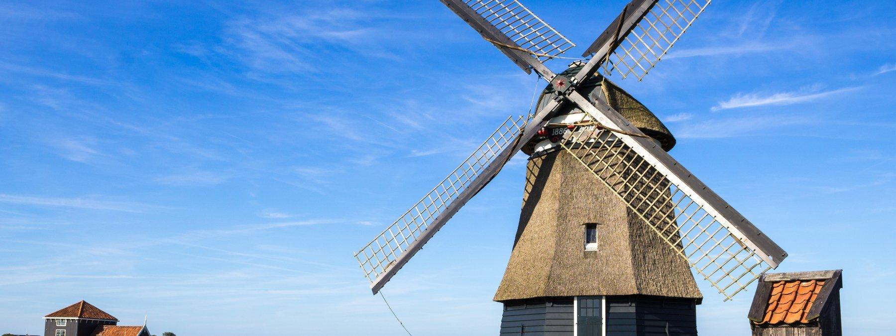 Alina - Windmühle in Hoorn, Niederlande