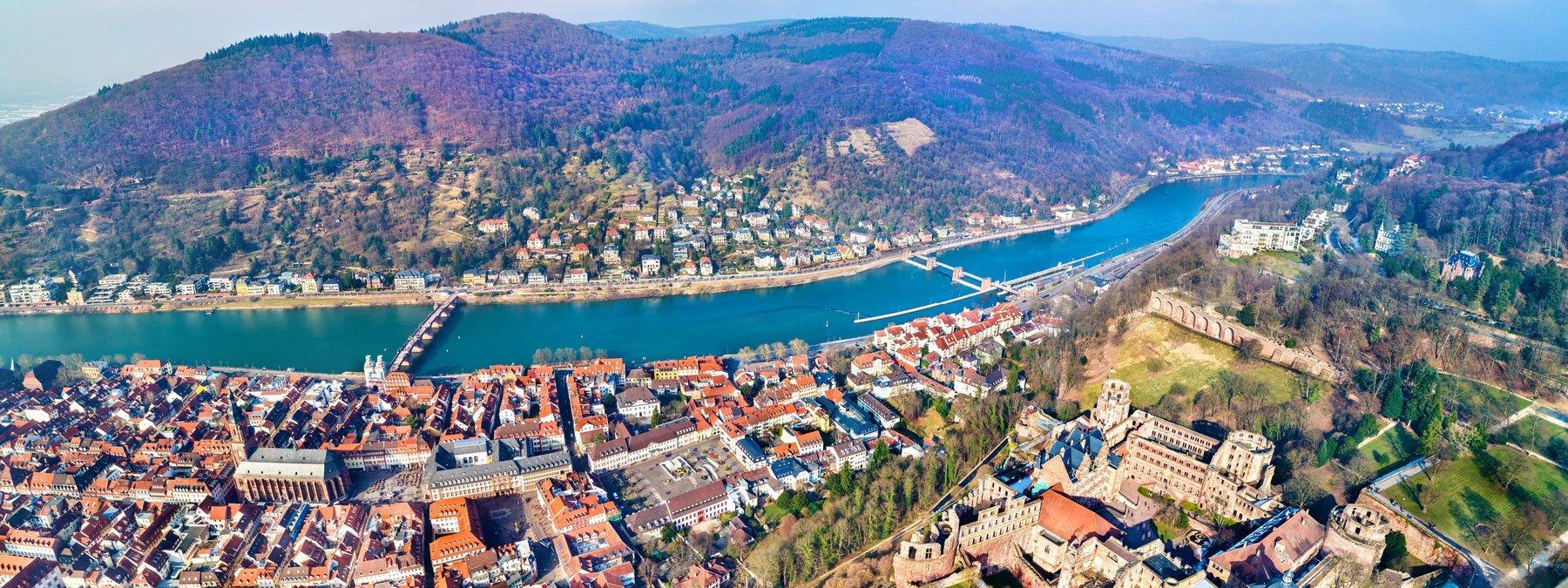Geoffrey Chaucer - Panorama Heidelberg