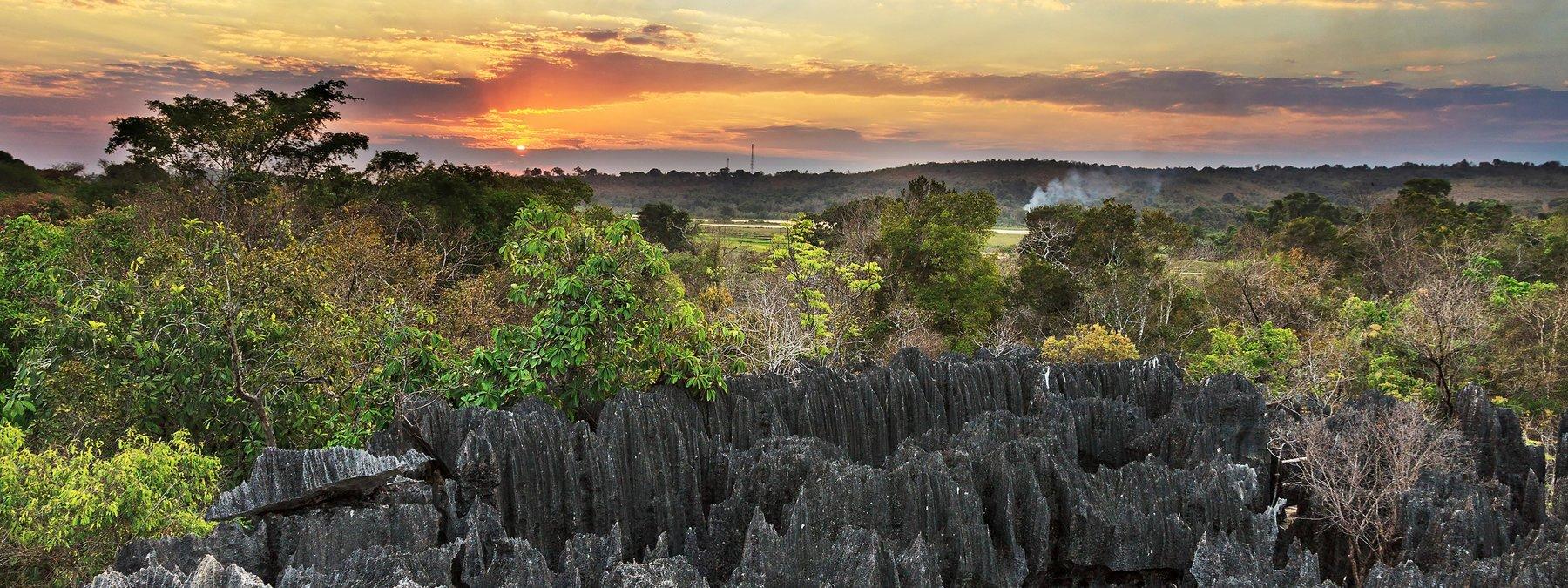 Die große Afrika-Herbstreise mit Inselträumen und wilder Tierwelt ...