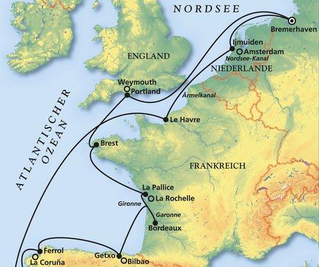 Sonnige Aussichten an Westeuropas schönsten Küsten ...