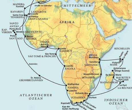 Große Fotos von den Afrikanischen