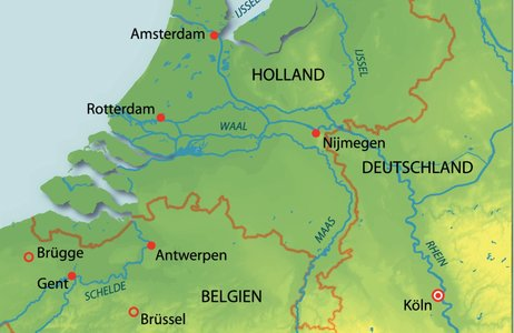 Deutschland, Niederlande, Belgien