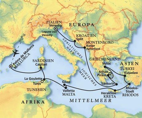Nördlichste der bewohnten griechischen ägäis inseln