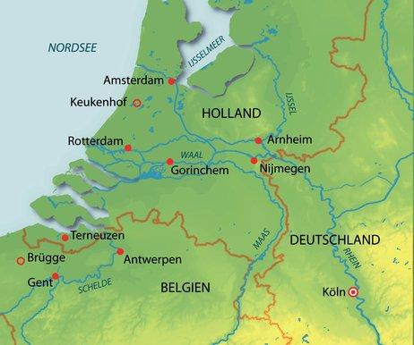 Deutschland, Holland, Belgien