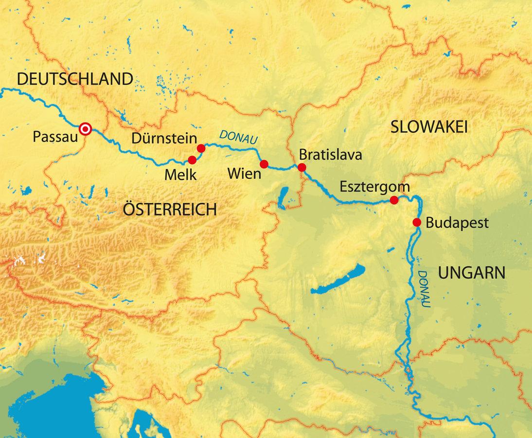 flusskreuzfahrt donau 2019