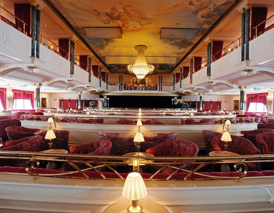 Show-Lounge Kaisersaal, MS Deutschland