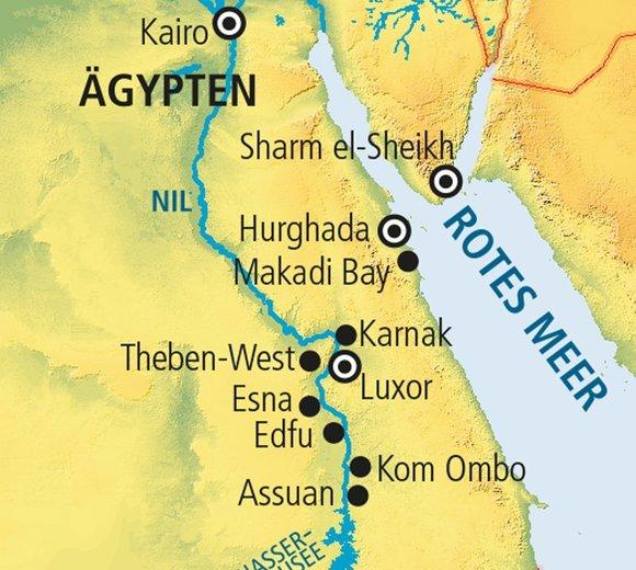 Karte ägypten Sharm El Sheikh.Nilkreuzfahrt Memnon Baden Im Iberotel Palace Online Buchen Mit