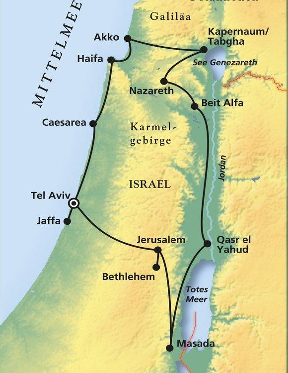 Israel Jerusalem Karte.Rundreise Bibel Online Buchen Mit Phoenix Reisen Gmbh
